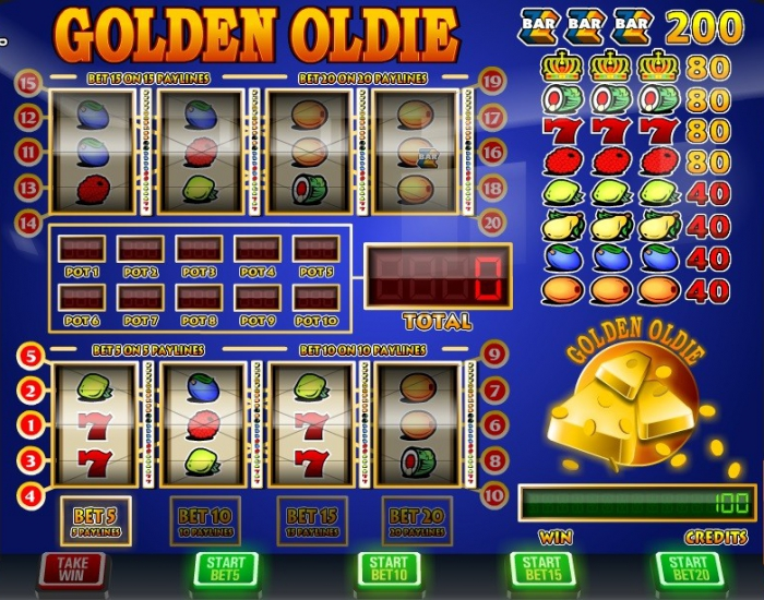 Golden Oldie-slots