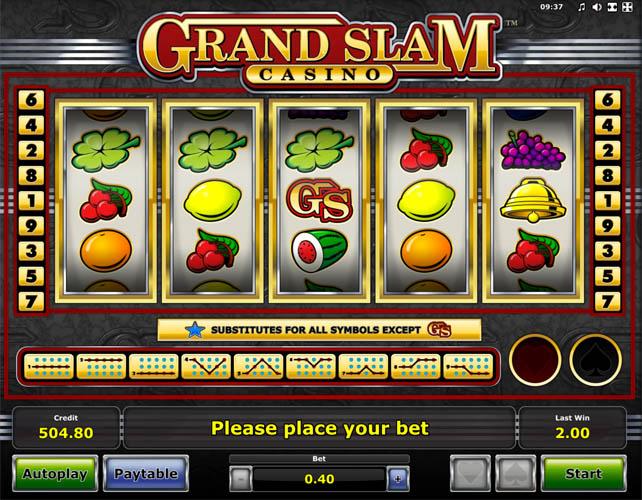Grand Slam slots
